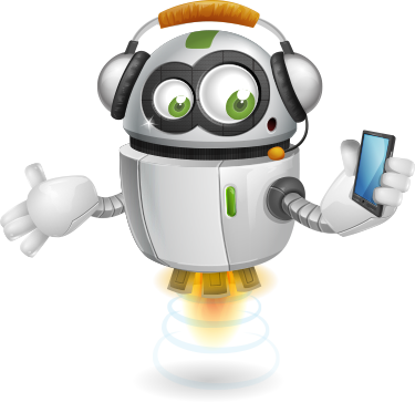 rory_phone robot cartoon character